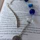 The perfect beach reading bookmark! Proudly handmade in Canada with Agate stones, its azure colors will instantly whisk you to the Caribbean!