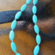 Handmade turquoise necklace from Unik Gemz with Sterling Silver plated quality clasp, perfect to put you and everyone who sees you in a festive summer mood!