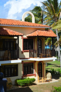 The Colonial Hotel in Cayo Coco, Cuba, the inspiration behind the Colonial Earrings.